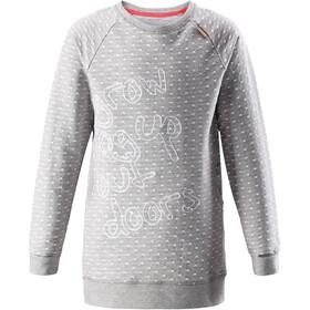 Reima Fugl Langærmet T-shirt Piger, melange grey